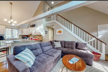 Eastham Cape Cod vacation rental - Sectional sofa (new 2020)