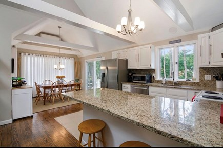 Eastham Cape Cod vacation rental - Kitchen area