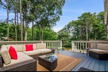 Eastham Cape Cod vacation rental - Spacious Deck