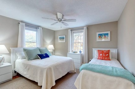 Eastham Cape Cod vacation rental - 1st floor bedroom with full bed and twin bed