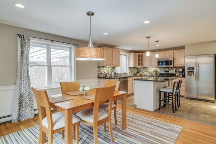Brewster Cape Cod vacation rental - Dining room/kitchen area