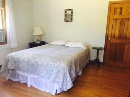 Wellfleet Cape Cod vacation rental - First floor bedroom with queen bed and AC