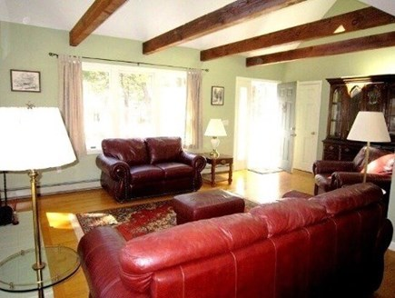 Wellfleet Cape Cod vacation rental - Living room (alternate view)