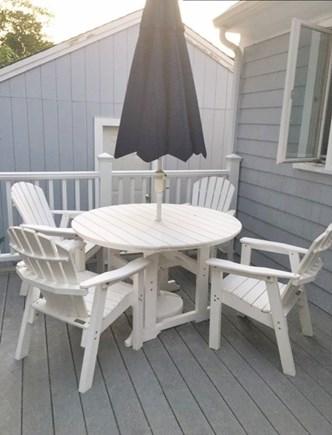 Falmouth, Maravista Cape Cod vacation rental - Back deck