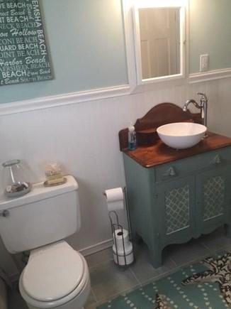 Falmouth, Maravista Cape Cod vacation rental - Upstairs full bath Bathroom, also downstairs full bath