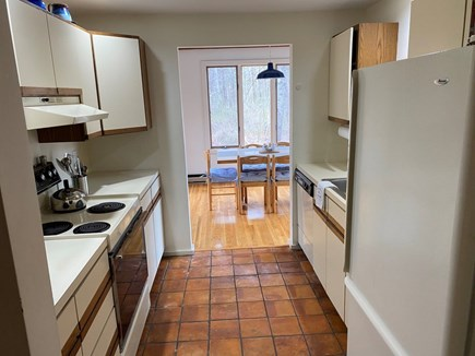East Orleans Cape Cod vacation rental - Galley Kitchen with dishwasher