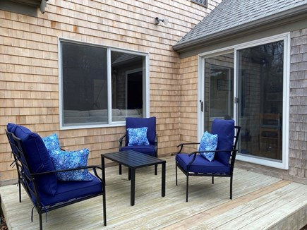 East Orleans Cape Cod vacation rental - Deck off of dining room