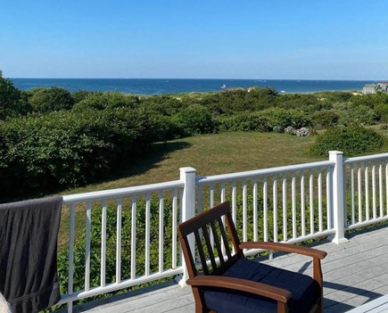 Dennis, Corporation Beach/Howes St Bea Cape Cod vacation rental - Beautiful view of Bay with a beach path (2 min walk to beach)