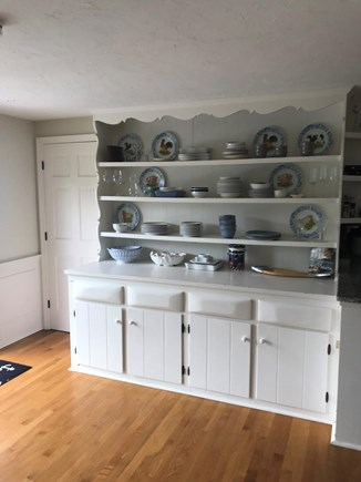 Dennis, Corporation Beach/Howes St Bea Cape Cod vacation rental - Built-in buffet