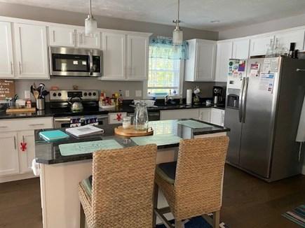 Dennis Cape Cod vacation rental - Kitchen island with 2 seats.