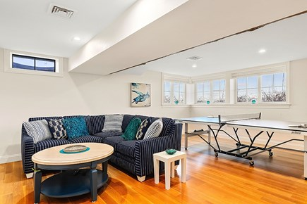 Dennis Cape Cod vacation rental - Lower level fun space