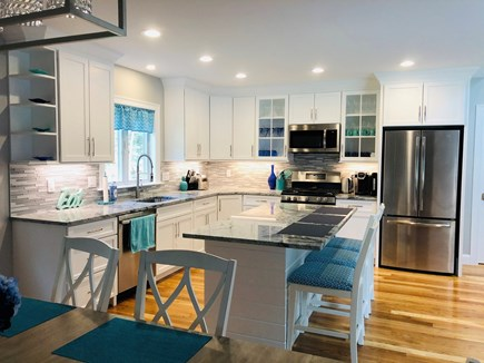 Falmouth Cape Cod vacation rental - Kitchen/ Dining