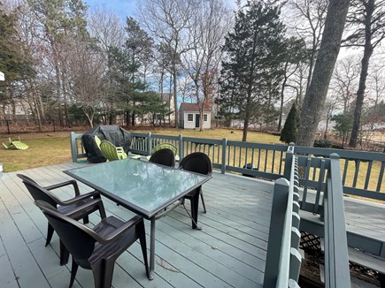 Falmouth Cape Cod vacation rental - Deck with grill