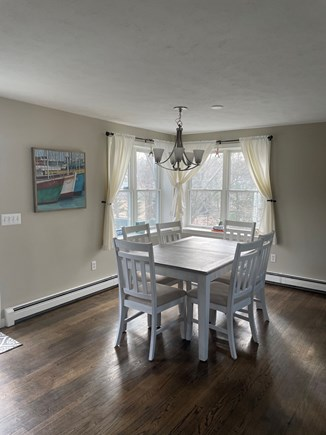 Falmouth Cape Cod vacation rental - Dining Area as part of open floor plan