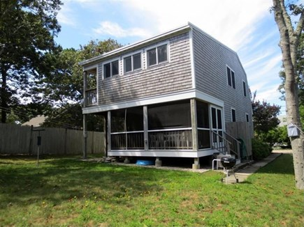 Eastham Cape Cod vacation rental - Rear of the house