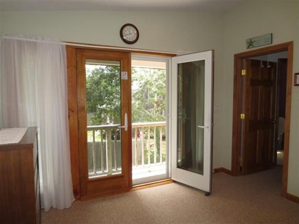 Eastham Cape Cod vacation rental - Second Floor Rear Bedroom entrance to private deck
