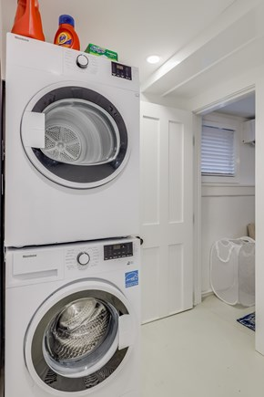 Provincetown Cape Cod vacation rental - Laundry area