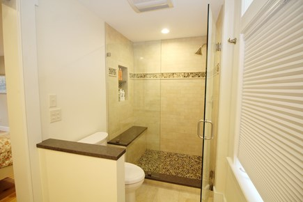 Wellfleet Cape Cod vacation rental - First floor ensuite bathroom with shower