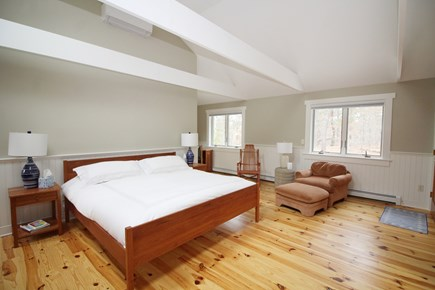 Wellfleet Cape Cod vacation rental - Second floor master bedroom with king and ensuite bath