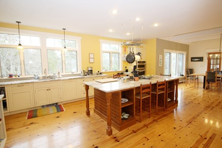 Wellfleet Cape Cod vacation rental - Nicely equipped and roomy kitchen with large island