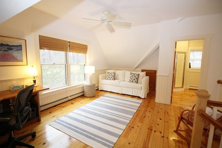 Wellfleet Cape Cod vacation rental - Second floor loft with desk and queen sofa bed