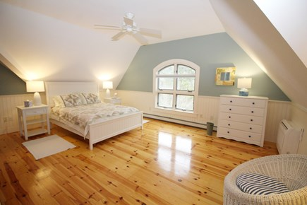 Wellfleet Cape Cod vacation rental - Second floor bathroom with queen bed and ensuite bathroom