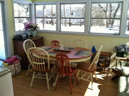 Dennisport Cape Cod vacation rental - Sun room