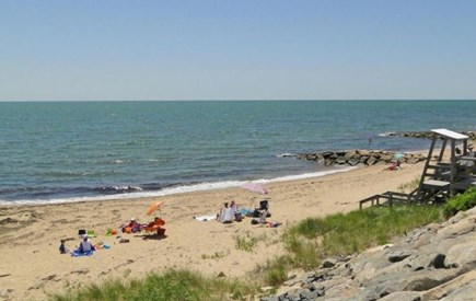 Dennisport Cape Cod vacation rental - Sea Street Beach 6 minute walk from our house