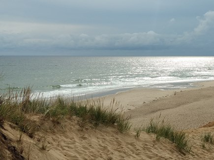 Wellfleet Cape Cod vacation rental - Path from Nellie Road to Lecount Hollow beach