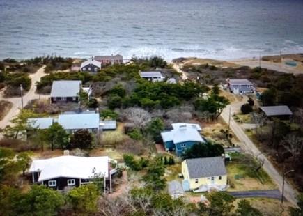 Wellfleet Cape Cod vacation rental - Aerial view looking East