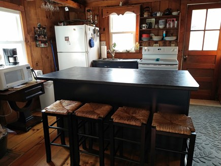 Wellfleet Cape Cod vacation rental - Coffee and cocktail bar