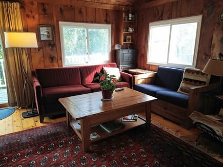 Wellfleet Cape Cod vacation rental - Comfy furniture for watching TV, reading, napping, bird watching