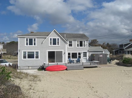 West Dennis Cape Cod vacation rental - Back of house on the beach