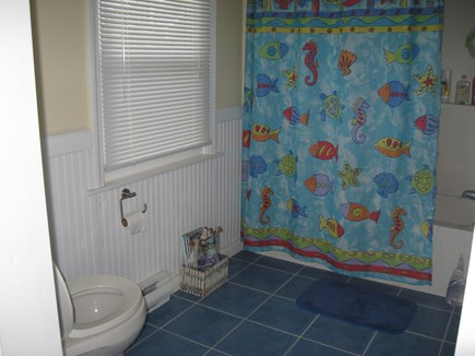West Dennis Cape Cod vacation rental - Bathroom on 2nd floor