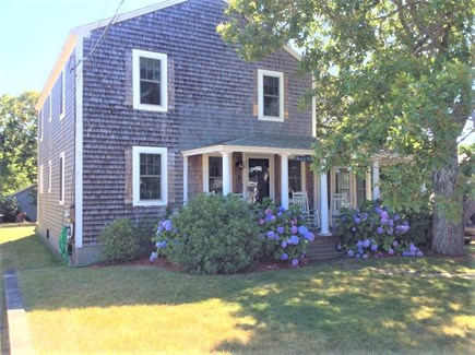 Dennis Port Cape Cod vacation rental - Front of house with seating