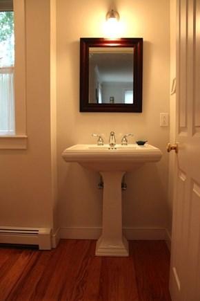 Wellfleet Cape Cod vacation rental - Half bath is on the main level.