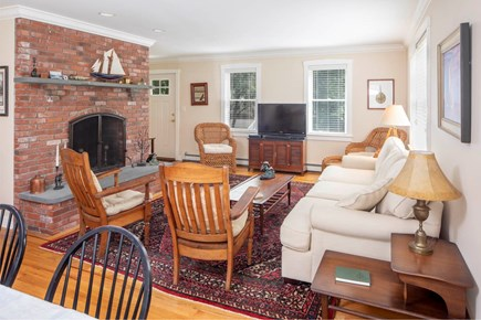 Wellfleet Cape Cod vacation rental - Additional view of the living dining area.