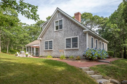 Wellfleet Cape Cod vacation rental - Lots of room for play in the yard.