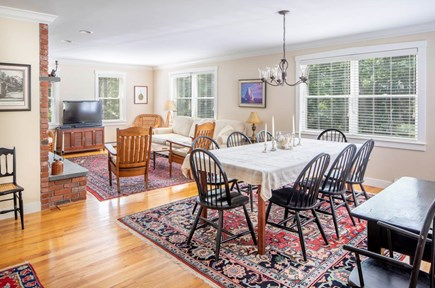 Wellfleet Cape Cod vacation rental - Plenty of room for everyone at table!
