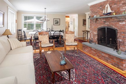 Wellfleet Cape Cod vacation rental - Large comfortable living dining area.