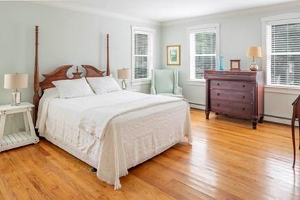 Wellfleet Cape Cod vacation rental - Spacious master has queen bed and an en-suite bath.