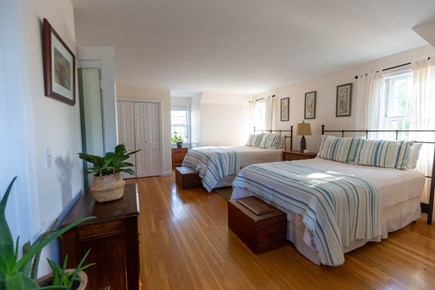 Dennis Village Cape Cod vacation rental - Bedroom #2 on second floor with queen bed and full bed.