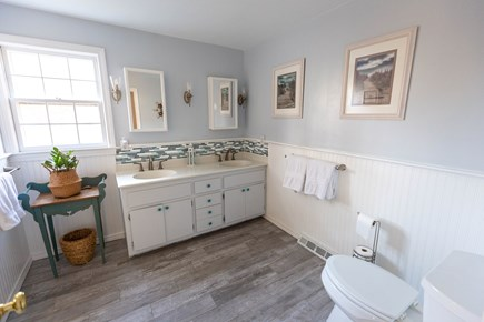 Dennis Village Cape Cod vacation rental - #2 Bath on second floor with separate tub and walk in shower.