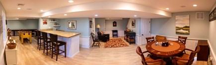 Dennis Village Cape Cod vacation rental - Finished basement with bar
