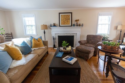 Dennis Village Cape Cod vacation rental - Living room area on first floor.