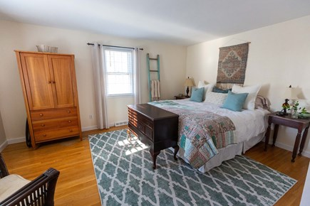 Dennis Village Cape Cod vacation rental - Bedroom #1 on first floor for one-level convenience.