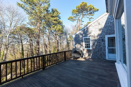 Dennis Village Cape Cod vacation rental - Roomy deck  with plenty of seating.