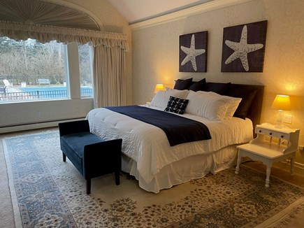 Yarmouth Port Cape Cod vacation rental - Downstairs Master Bedroom with king bed & full en suite bathroom