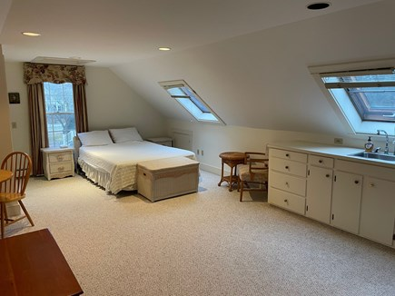 Yarmouth Port Cape Cod vacation rental - Loft with queen bed, sitting and dining areas, & kitchenette