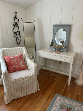 Centerville Cape Cod vacation rental - Bedroom with seating area and writing desk